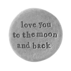 'Moon And Back' Pocket Coin