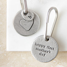 Load image into Gallery viewer, 'Happy First Mother's Day' Keyring