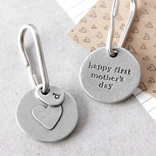 Load image into Gallery viewer, Personalised 'Happy First Mother's Day' Keyring