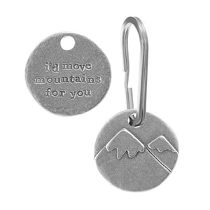 'I'd Move Mountains For You' Keyring