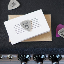 Load image into Gallery viewer, Heart Strings Guitar Plectrum