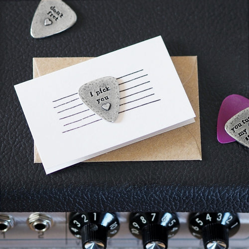 Heart Strings Guitar Plectrum