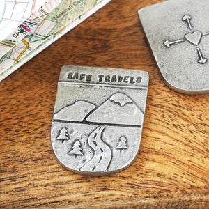 'Safe Travels' Pocket Token