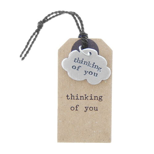 'Thinking Of You' Cloud Charm