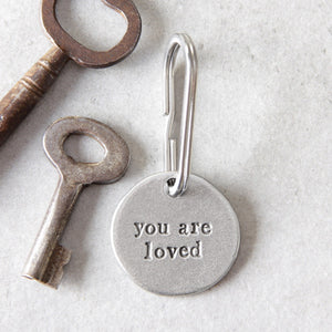 'You Are Loved' Keyring