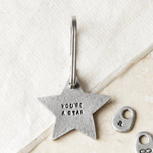 Load image into Gallery viewer, 'You're a Star' Keyring
