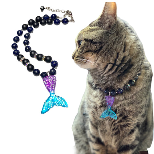 Mermaid necklace for Puppy