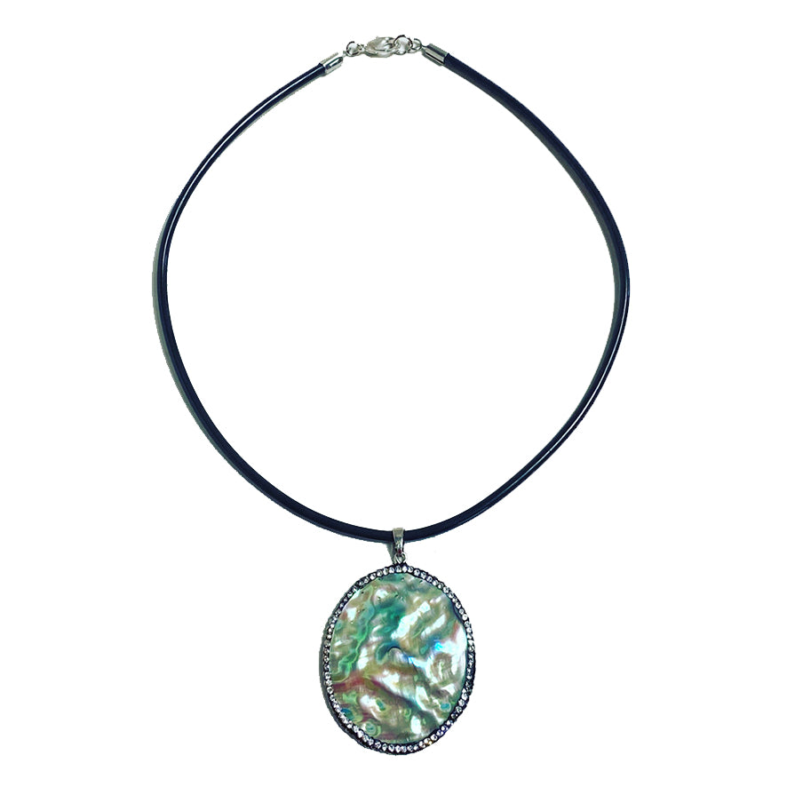 Beautiful Abalone Shell Pendant Necklace