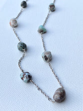 Larimar Gemstone Chain Necklace