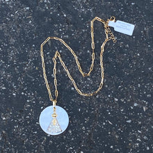Virgin Mary Thick Gold Chain
