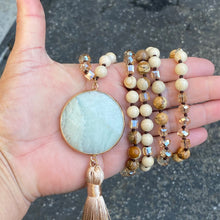 Mala Beads Jasper Preyer Necklace