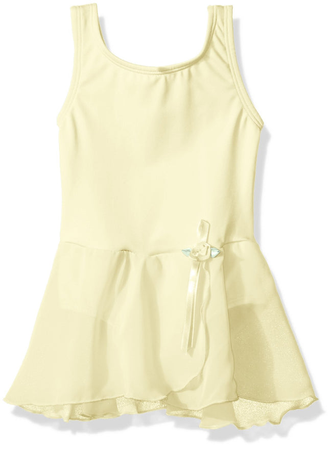 Clementine Big Girls' Pretty Tank Leotard Dress - Clementine Apparel