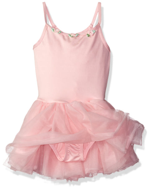 Clementine Little Girls' Camisole Tutu Leotard - Clementine Apparel