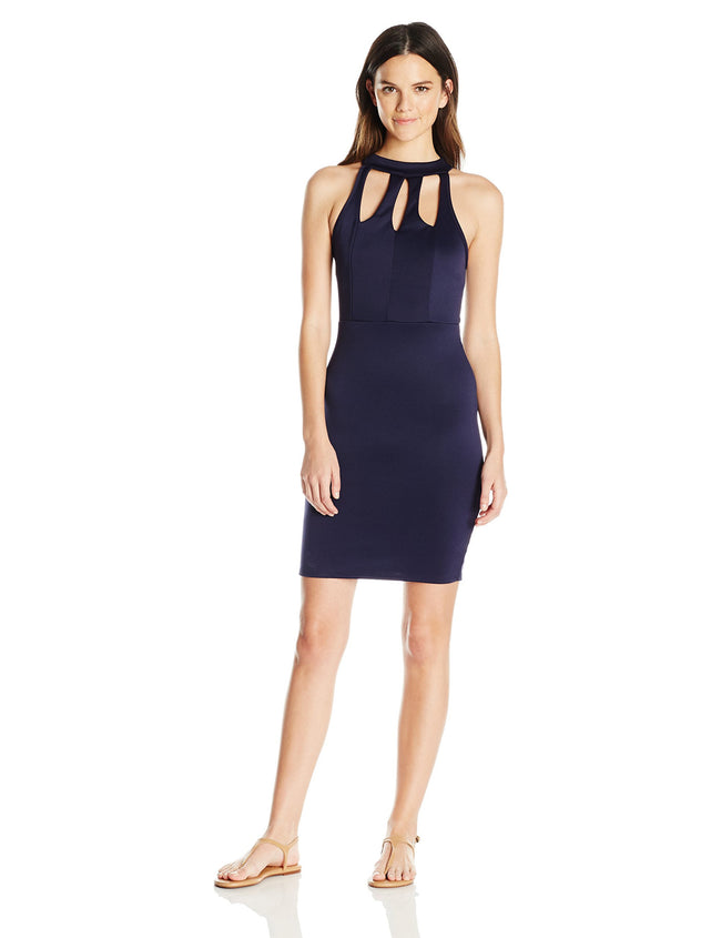 Clementine Women's Techno Social Dress with Keyholes - Clementine Apparel