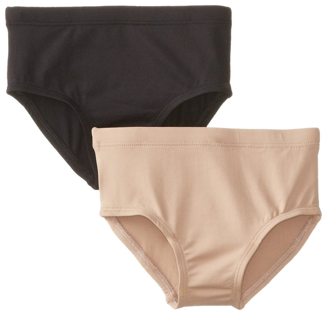 Clementine Little Girls Athletic Brief (Pack of 2) - Clementine Apparel