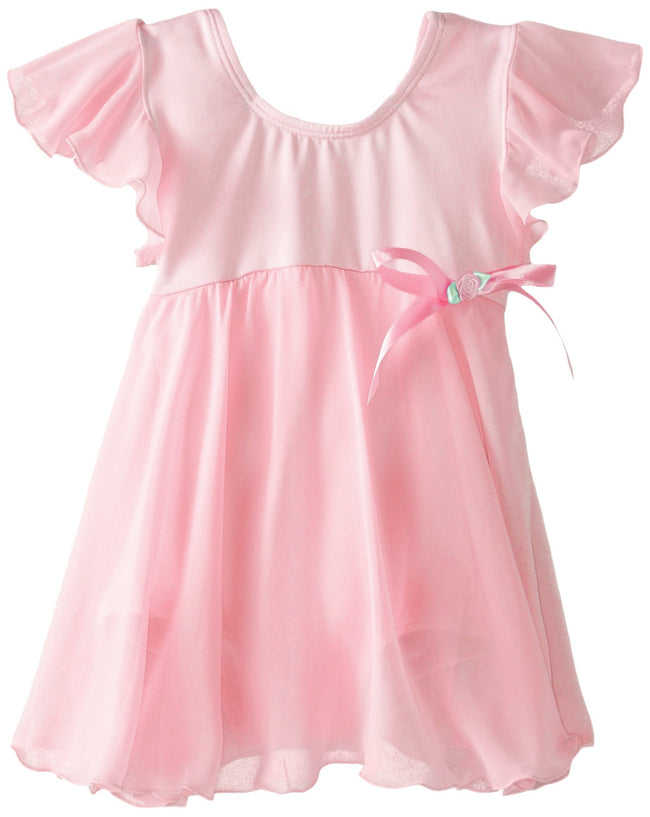 Clementine Little Girls' Charming Chiffon Leotard - Clementine Apparel