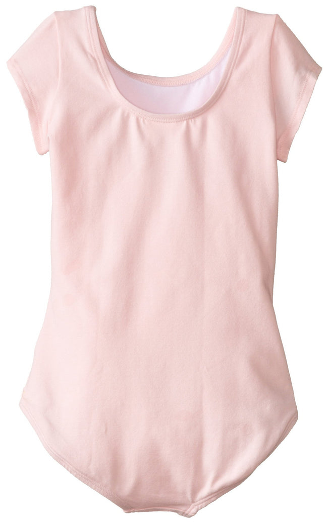 Clementine Big Girls' Short Sleeve Leotard - Clementine Apparel