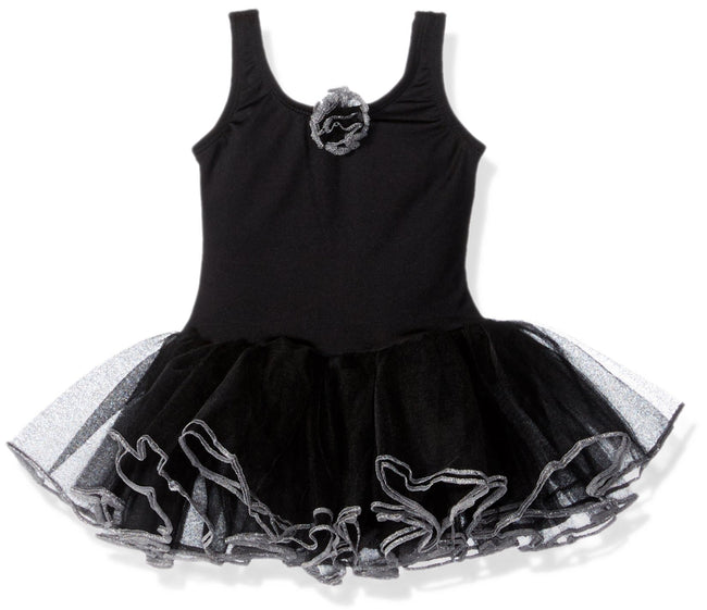 Clementine Little Girls' Tank Tutu Leotard Dress - Clementine Apparel