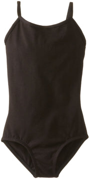 Clementine Big Girls' Criss Cross Strap Camisole Leotard - Clementine Apparel