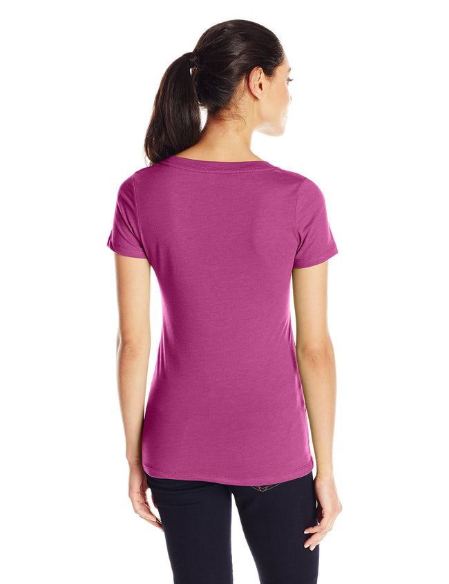 Clementine Women's Deep V-Neck Tee - Clementine Apparel