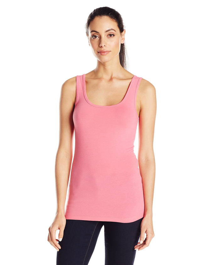 Clementine Women's 2x1 Rib Tank Top - Clementine Apparel