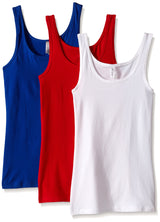Clementine Women's 2x1 Rib Tank Top (Pack of 3) - Clementine Apparel