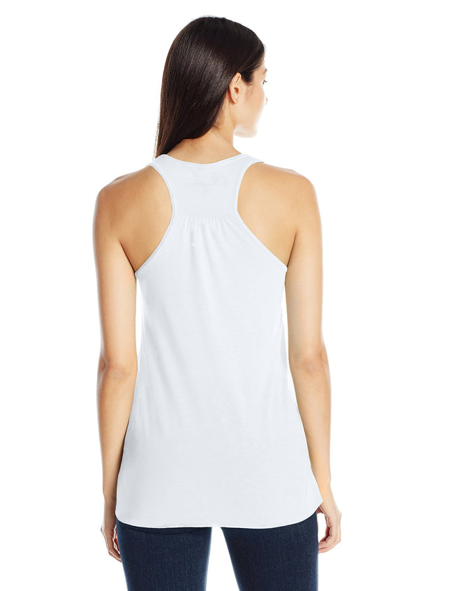 Clementine Women's Anchors Printed Flowy Racerback Tank - Clementine Apparel
