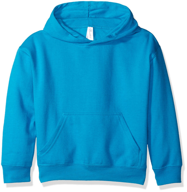Clementine Big Girls' Youth Hooded Pullover Sweatshirt with Pouch Pocket - Clementine Apparel