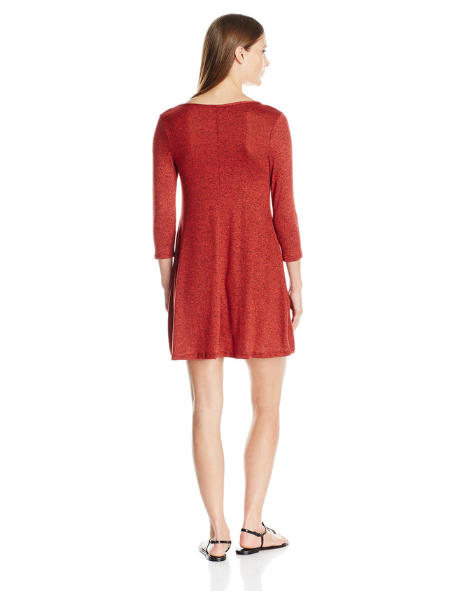 Clementine Women's Firenze Long Sleeve Everyday Dress - Clementine Apparel