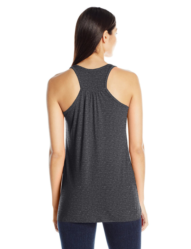 Clementine Women's Anchor Printed Flowy Racerback Tank - Clementine Apparel