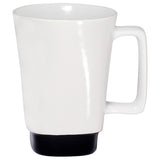 Clementine Stoneware Mug With Square Color Base 16 Oz - Clementine Apparel