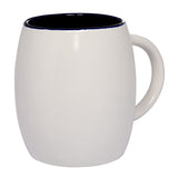 Clementine Two-Tone Curve Ceramic Mug 12 Oz - Clementine Apparel