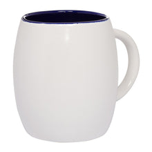 Clementine Morning Show Barrel Mug 14 Oz