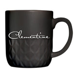 Clementine Textured Ceramic Mug 16 oz - Clementine Apparel