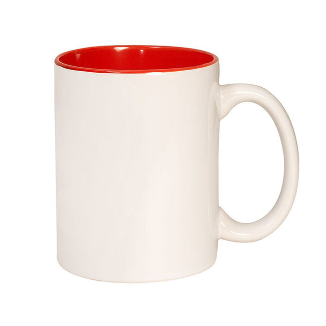 Clementine Two Tone C-Handle Mug 11 Oz - Clementine Apparel