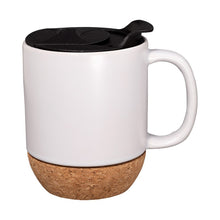 Clementine Ceramic Mug With Cork Base 14 Oz