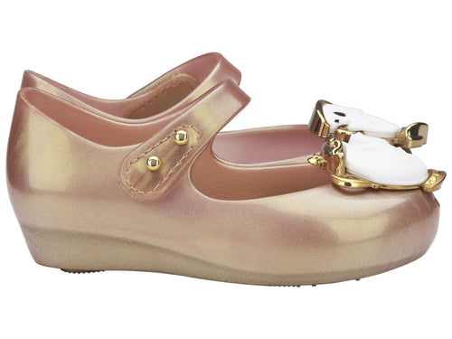 367087a99009 Mini Melissa Ultragirl Beauty   The Beast Nude