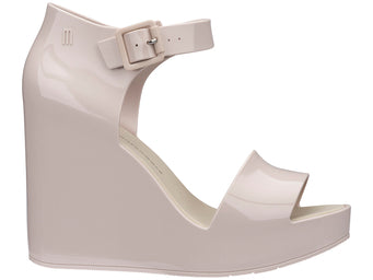 Melissa Mar Wedge Beige