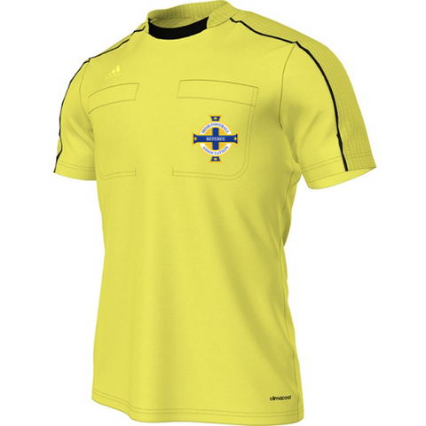 Adidas Referee 16 S/S Shirt - Yellow (IFA)