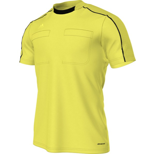 Adidas Referee 16 S/S Shirt - Yellow