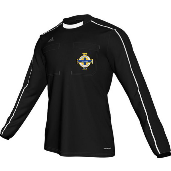 Adidas Referee 16 L/S Shirt - Black (IFA)
