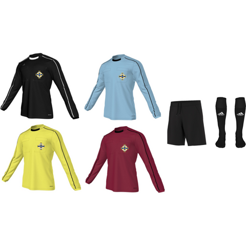Adidas Referee 16 L/S Kit Bundle - All Colours (IFA)