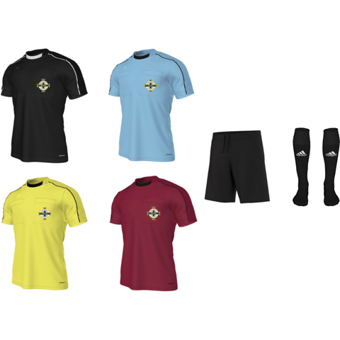 Adidas Referee 16 S/S Kit Bundle - All Colours (IFA)
