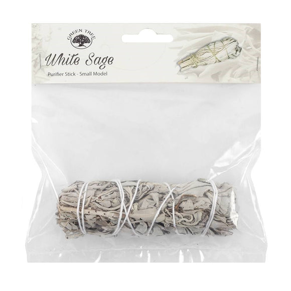 11cm White Sage Stick by Green Tree