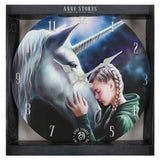 Anne Stokes The Wish Wall Clock