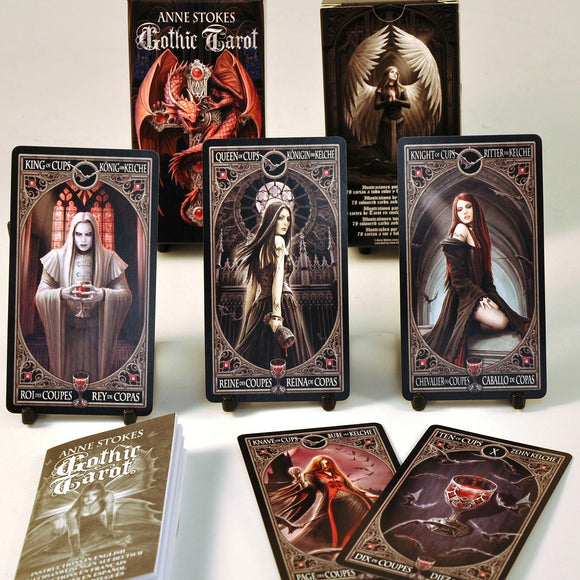 Anne Stokes Gothic Tarot Cards & Book