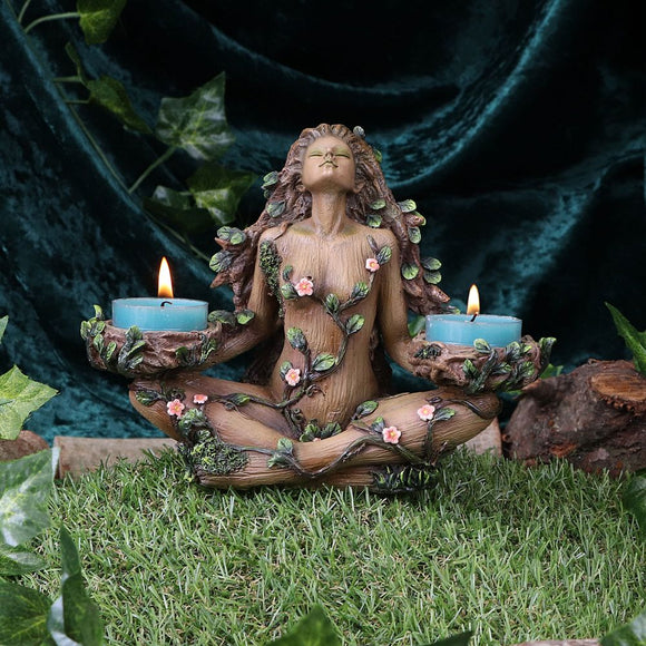 Balance of Nature Female Tree Spirit Tealight Candle Holder **PRE ORDER** (Please Read Below)
