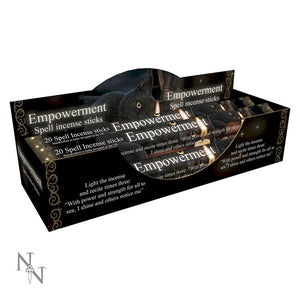 Empowerment Spell Patchouli Scented Incense Sticks by Lisa Parker