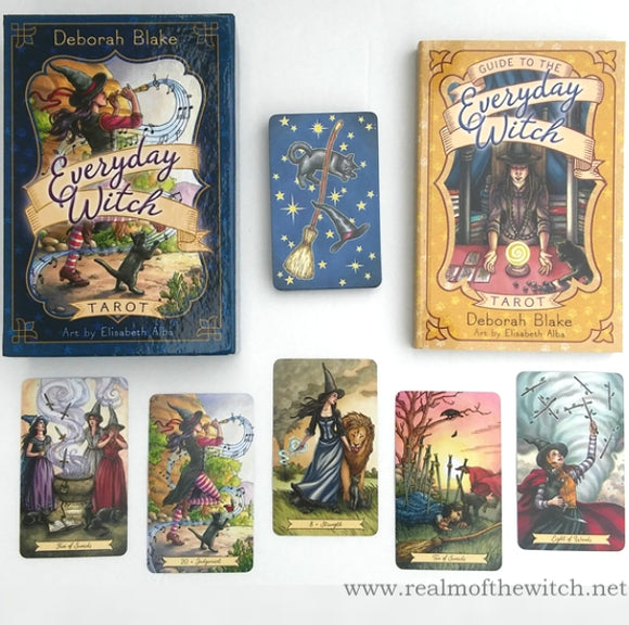 Everyday Witch Tarot Cards & Book By Deborah Blake
