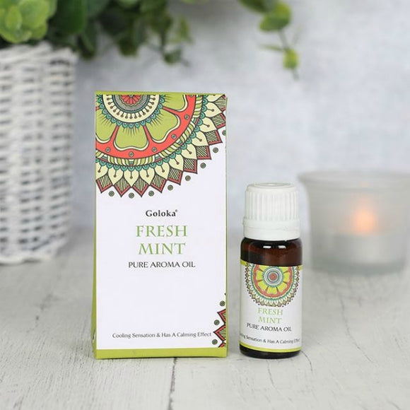 Goloka 10ml Fresh Mint Fragrance Oil